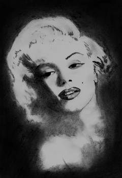 Marilyn Monroe by Chris Hall
