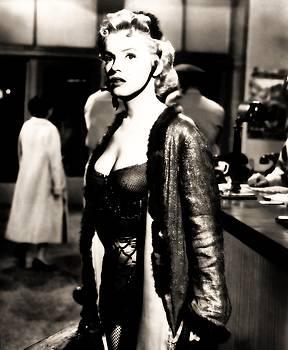 Marilyn Monroe dressed to trill in bus stop by R Muirhead Art
