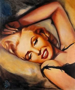Marilyn Monroe by Elizabeth Silk