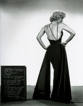 Marilyn Monroe in GENTLEMEN PREFER BLONDES by R Muirhead Art
