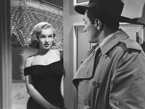 Marilyn Monroe in THE ASPHALT JUNGLE  by R Muirhead Art