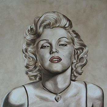 Marilyn Monroe by Jindra Noewi