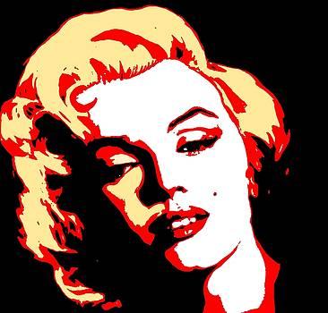 Marilyn Monroe by Joanna Aud