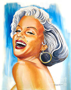 Marilyn Monroe by Kostas Soutsos