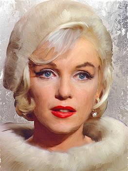 Marilyn Monroe Portrait Study by Brian Tones