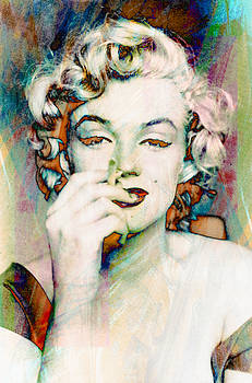 Marilyn Monroe Smokin Hot by Kevin Moore