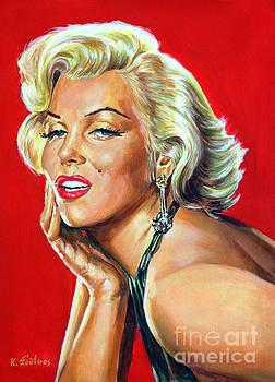 Marilyn Monroe by Spiros Soutsos