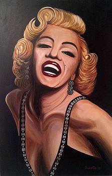 Marilyn Monroe by Suzette Castro