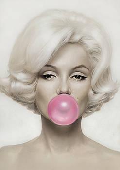 Marilyn Monroe by Vitor Costa