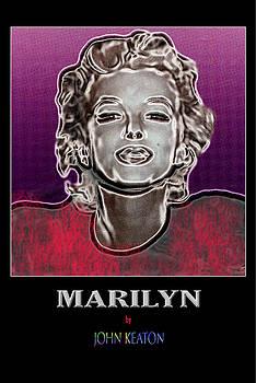 Marilyn Poster by John Keaton