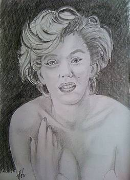 Marilyn by Gyorgy Szilagyi