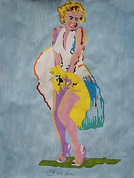 Marilyn White Dress by Stormm Bradshaw