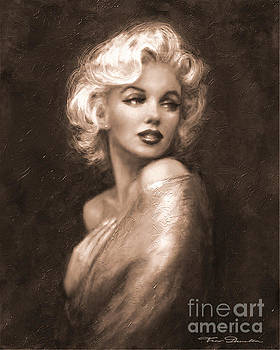 Marilyn WW Sepia by Theo Danella