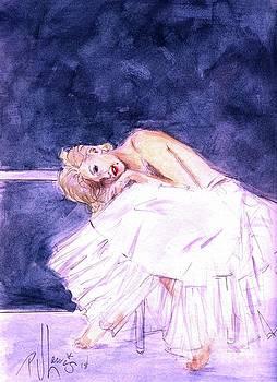 Marilyn's Ballerina Sittings by PJ Lewis
