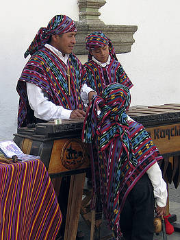 Kurt Van Wagner - Marimba Player Old Antigua