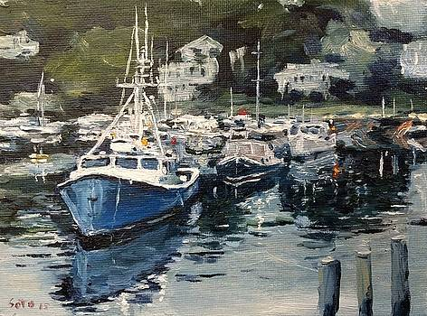 Marina at Ogunquit by Victor SOTO