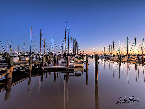 Marina at Sunrise by Luis Lugo