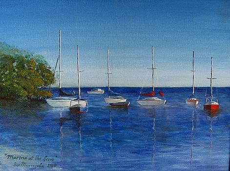 Marina at the Grove by Eleonora Mingazova