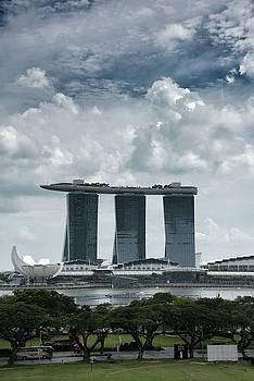 Marina Bay Sands Iconic View of Singapore by Zina Zinchik