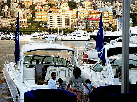 Marina Boats Exhibitions Lebanon by Therese AbouNader