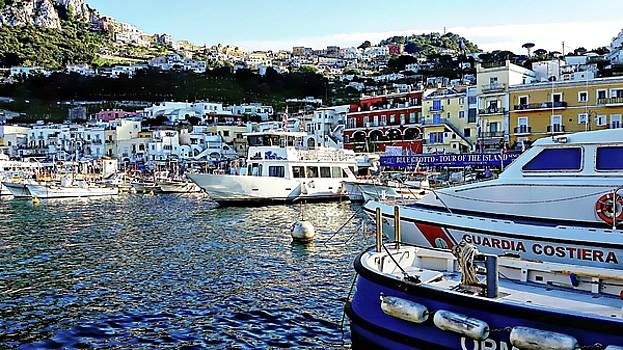 Marina Grande - Isle of Capri by Joseph Hendrix