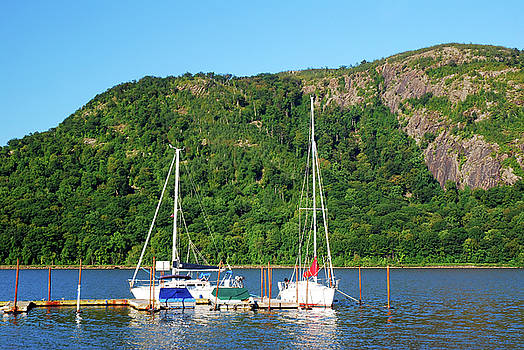 Marina in the Highlands by James Kirkikis