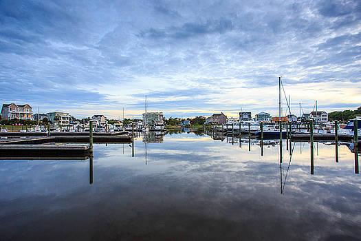 Marina Sunset 2 by Nick Noble