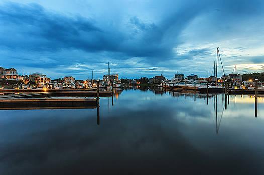 Marina Sunset by Nick Noble