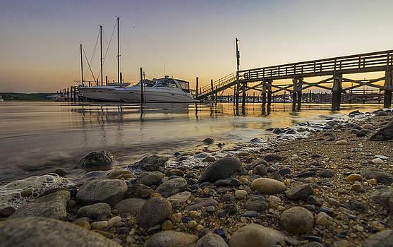 Marina Sunset by Roderick Breem