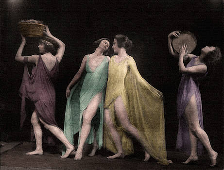 Marion Morgan Dancers Colorized by Robert G Kernodle