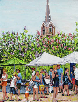 Marion Square Market by Thomas Michael Meddaugh