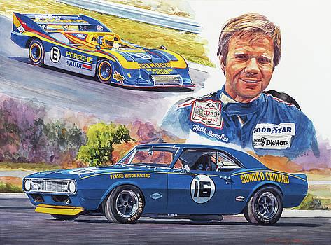 Mark Donohue Racing by David Lloyd Glover