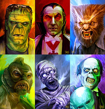 Mark Spears Monsters Group by Mark Spears