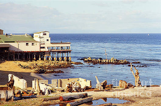 California Views Mr Pat Hathaway Archives - Mark Thomas Outrigger restaurant 700 Cannery Row  Monterey 1970