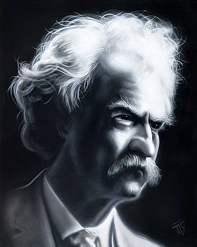 Mark Twain by Joshua South