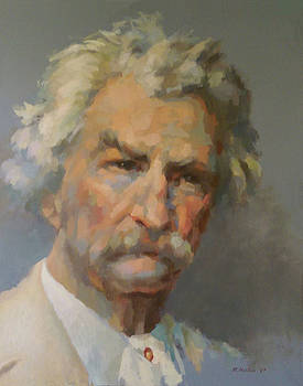 Mark Twain by Mike Hanlon