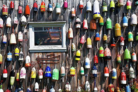 Marker Buoys by Jim Wallace