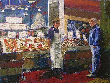 Market Conversation by Mary McInnis