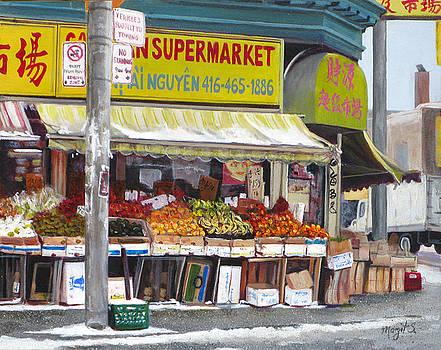 Market  Day  by Margit Sampogna