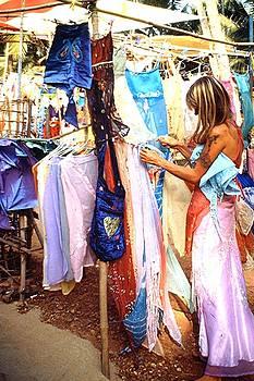 Market, Goa by Barron Holland