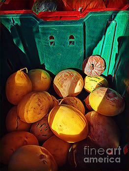 Market Harvest - Autumn Squash by Miriam Danar