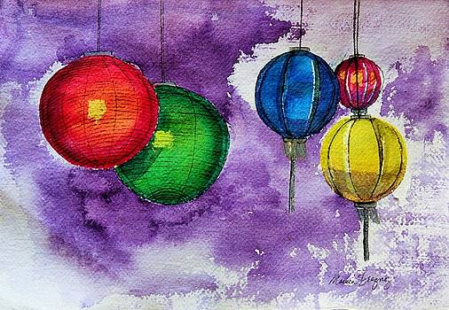 Market Lanterns by Marcia Breznay