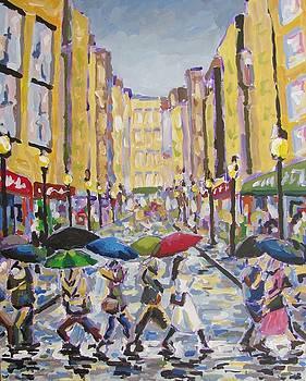 Market Rain by KC Chapman