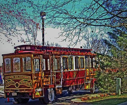 Market Street Trolley by Julie Grace