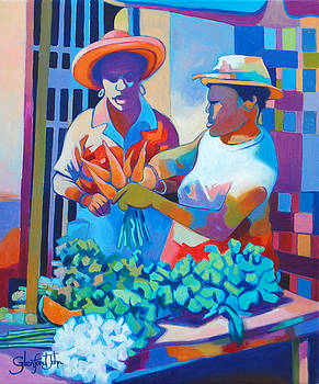 Market Vendor by Glenford John