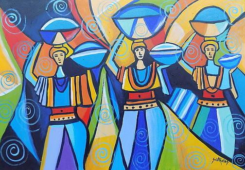Market Women by Olaoluwa Smith