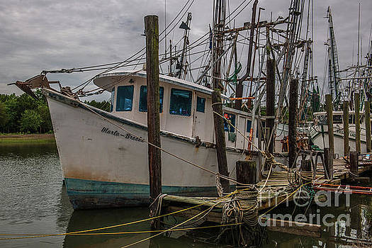Dale Powell - Marla Brooke Shrimp Boat Docked in McCellanville SC