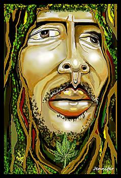 Bob Marley by Jennifer Miller