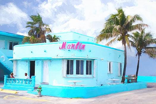Marlin Hotel - Hollywood Beachside by Chrystyne Novack