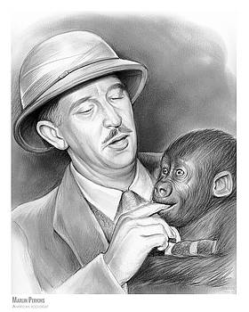 Marlin Perkins by Greg Joens